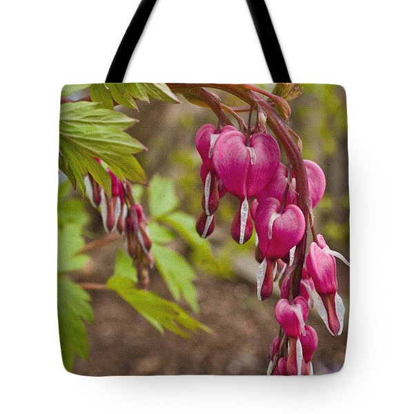 Tote Bag featuring the photograph Spring's First Love by Sandi Mikuse
