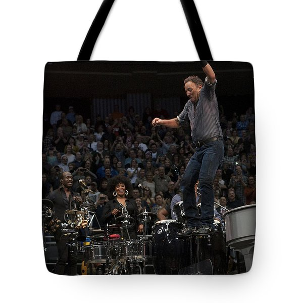 Springsteen In Motion Tote Bag