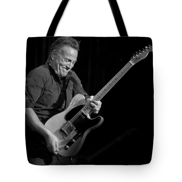 Springsteen Shreds Bw Tote Bag