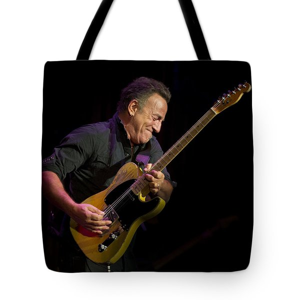 Springsteen Shreds Tote Bag by Jeff Ross