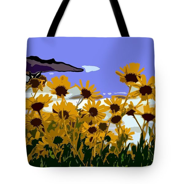 Springtime At The Coast  Tote Bag