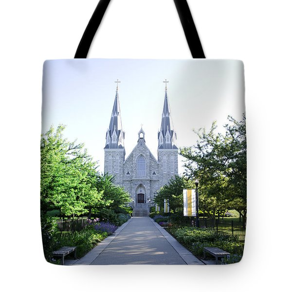 Springtime At Villanova Tote Bag