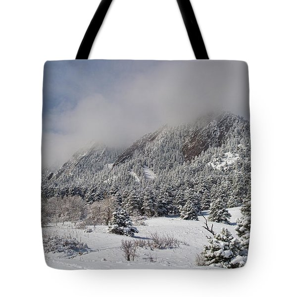 Springtime Colorado Rocky Mountains Boulder Tote Bag by James BO  Insogna