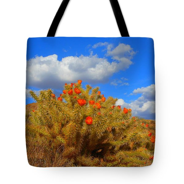 Springtime In Arizona Tote Bag by James Welch