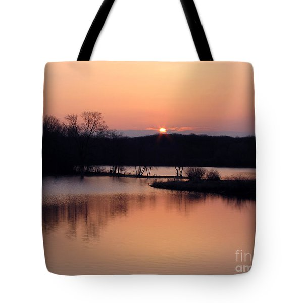 Springtime In Monee Tote Bag by Cedric Hampton