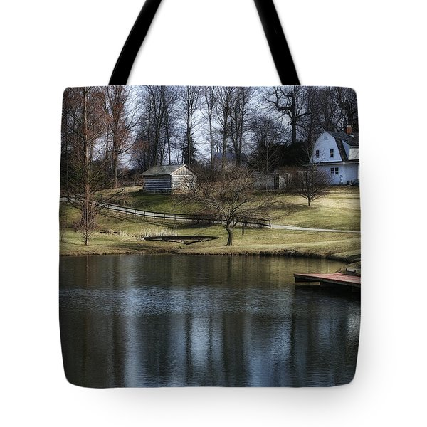 Springtime In Ohio Tote Bag by Tom Mc Nemar
