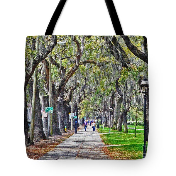 Springtime In Savannah Tote Bag