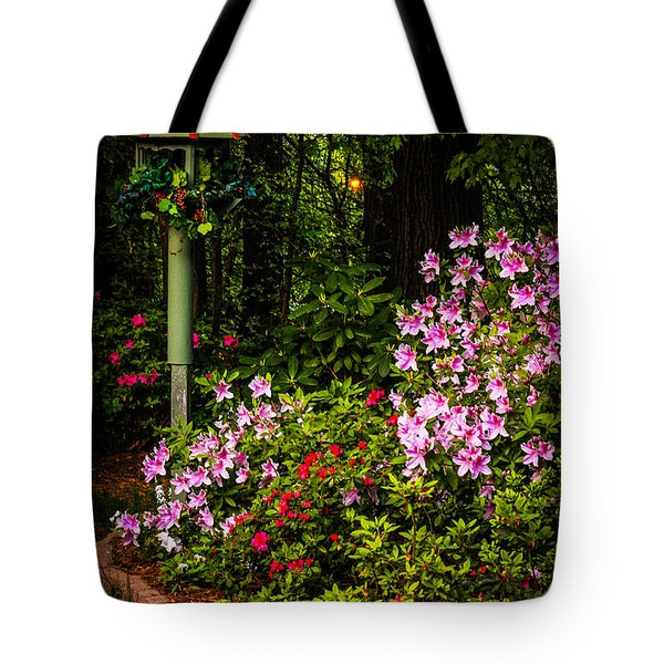 Springtime In The Garden  Tote Bag