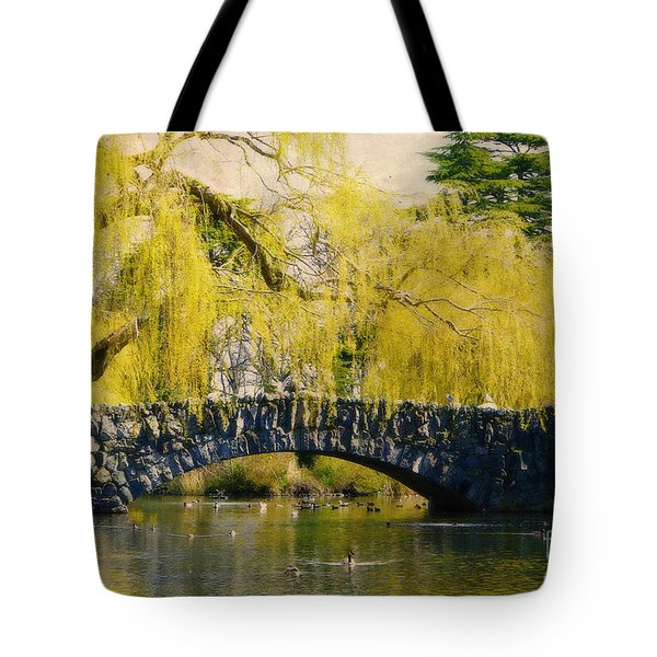 Springtime In Victoria Tote Bag
