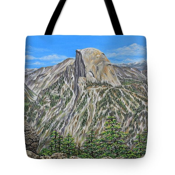 Springtime In Yosemite Valley Tote Bag