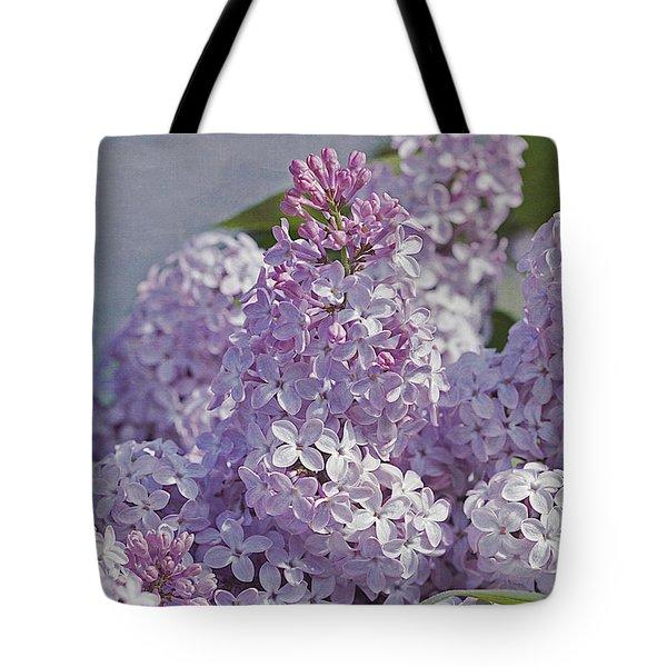 Springtime Lilacs Tote Bag
