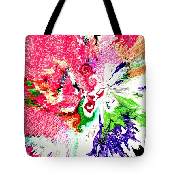 Springtime Tote Bag by Linda Cox
