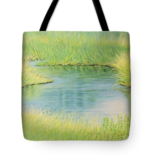 Springtime Marsh-new Beginnings Tote Bag