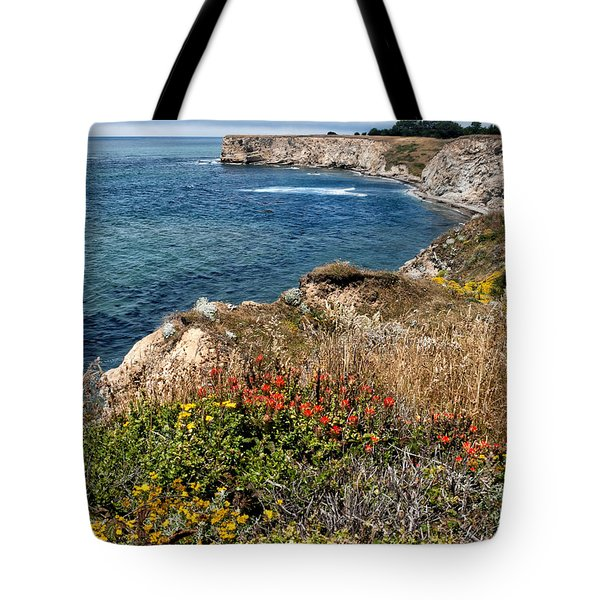 Springtime On The California Coast Tote Bag