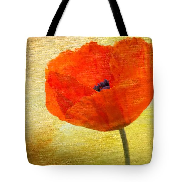 Springtime Poppy Beauty Tote Bag by Denyse Duhaime