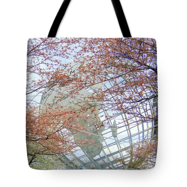 Springtime Round The World Tote Bag by Ed Weidman