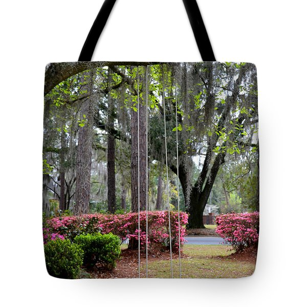Springtime Swing Time Tote Bag