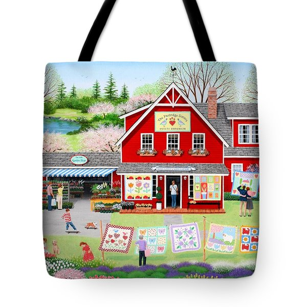 Springtime Wishes Tote Bag by Wilfrido Limvalencia