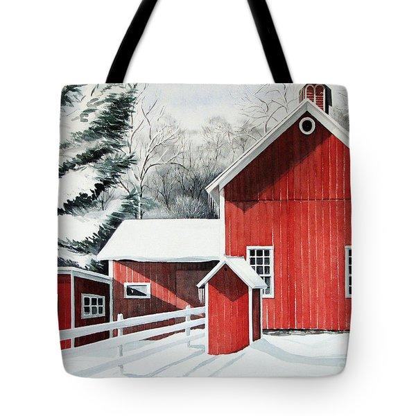 Springwater Barns Tote Bag