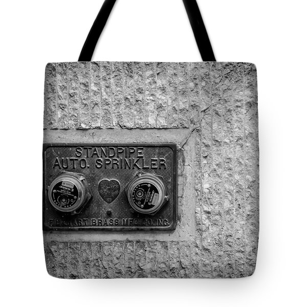 Sprinkler With A Heart Tote Bag