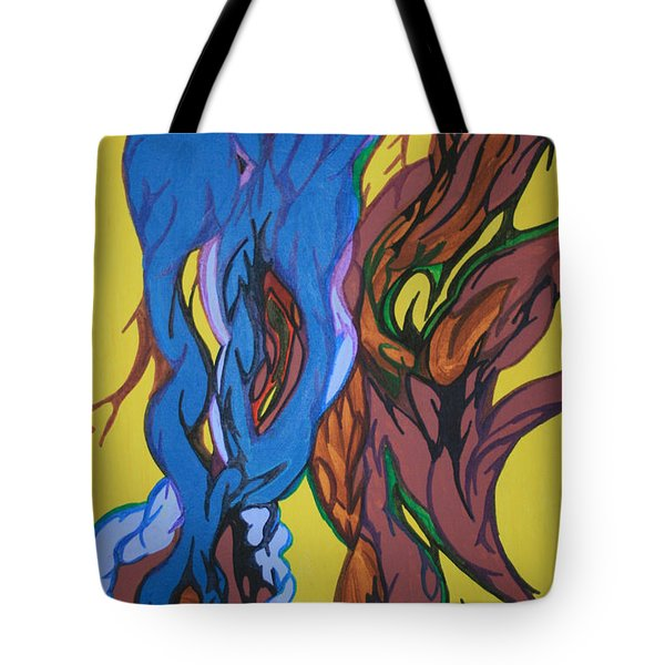 Sprouting Seed 1 Tote Bag by Mary Mikawoz