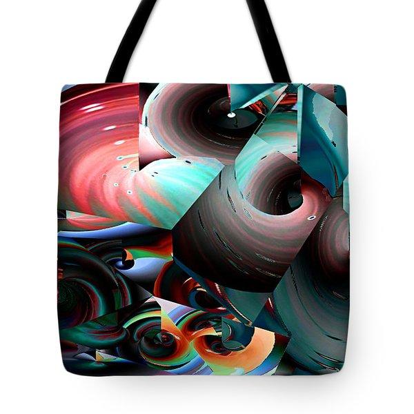 Spun Energy Tote Bag