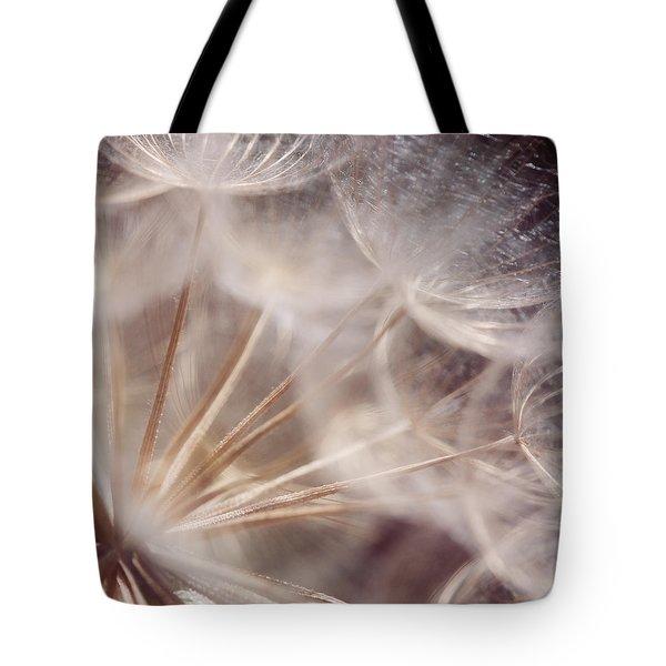Spun Gold Tote Bag by Lisa Knechtel