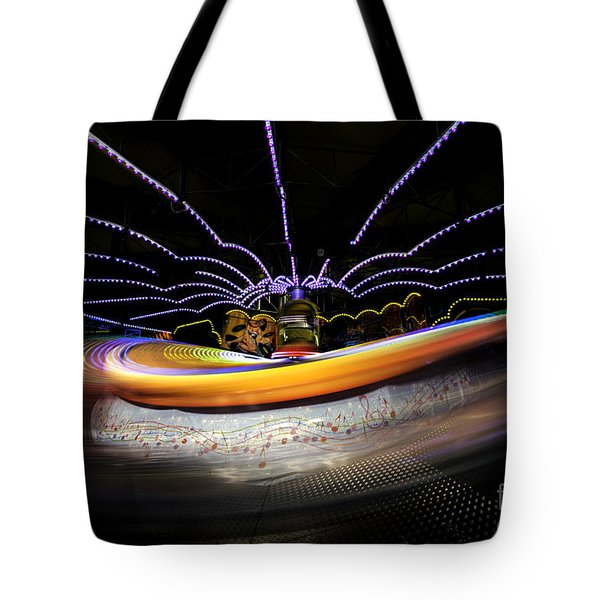 Spun Out 2 Tote Bag