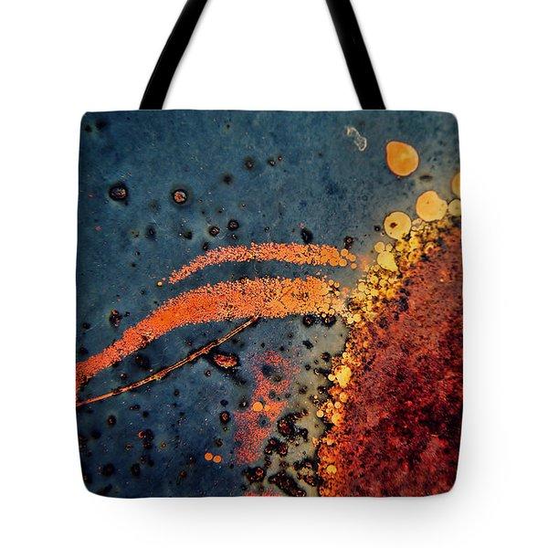 Sputter Tote Bag by Leanna Lomanski