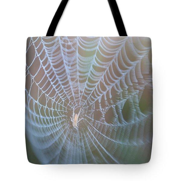 Spyder's Web Tote Bag