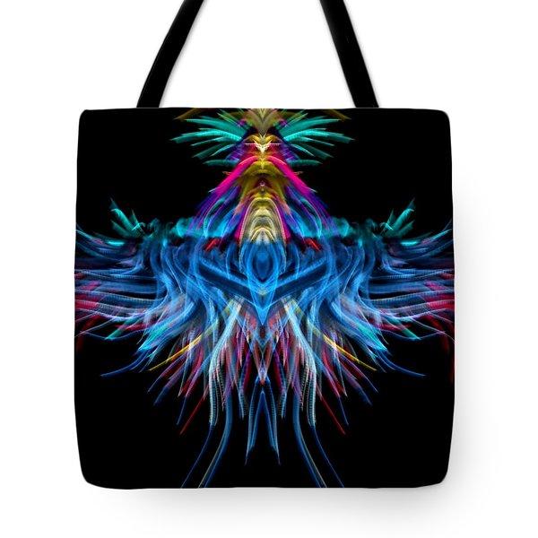 Square Space Tote Bag by Kruti Shah