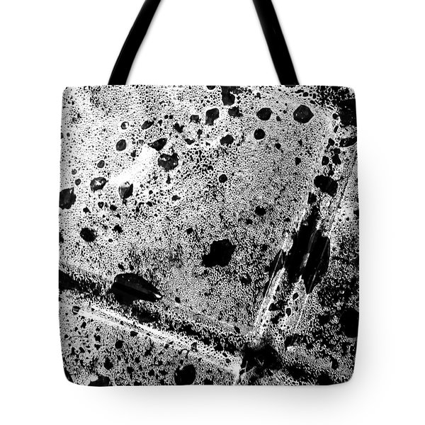 Squares In Black 'n' White Tote Bag