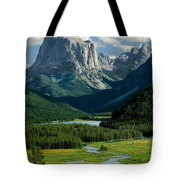 Squaretop Mountain 3 Tote Bag