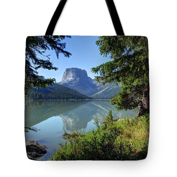 Squaretop Mountain - Wind River Range Tote Bag
