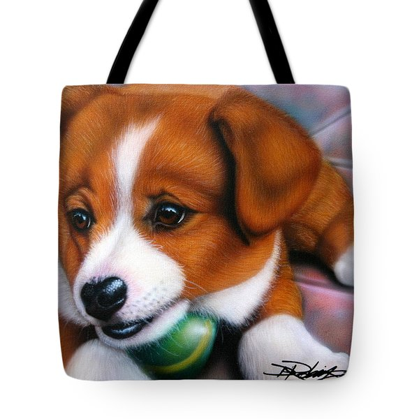 Squeaker Tote Bag by Darren Robinson