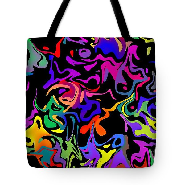 Tote Bag featuring the photograph Squirbles by Mark Blauhoefer