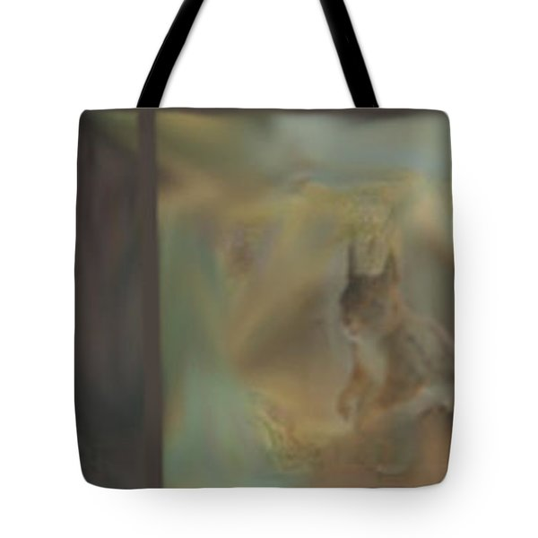 Tote Bag featuring the photograph Squirrels And Trees by Randi Grace Nilsberg