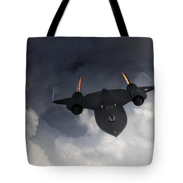Sr-71 Blackbird Tote Bag by J Biggadike