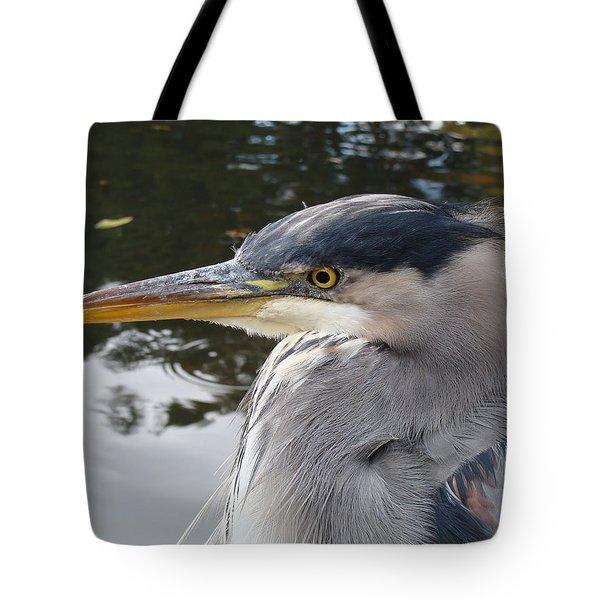 Sr Heron  Tote Bag