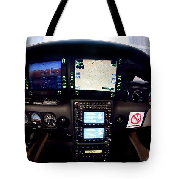 Sr22 Cockpit Tote Bag by Paul Job