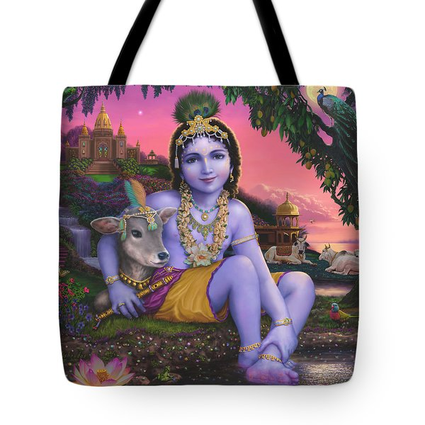 Sri Krishnachandra Tote Bag