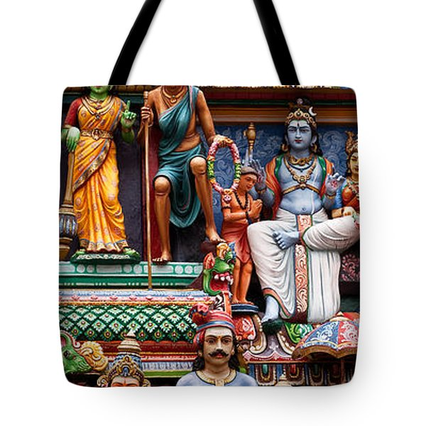 Sri Mariamman Temple 03 Tote Bag