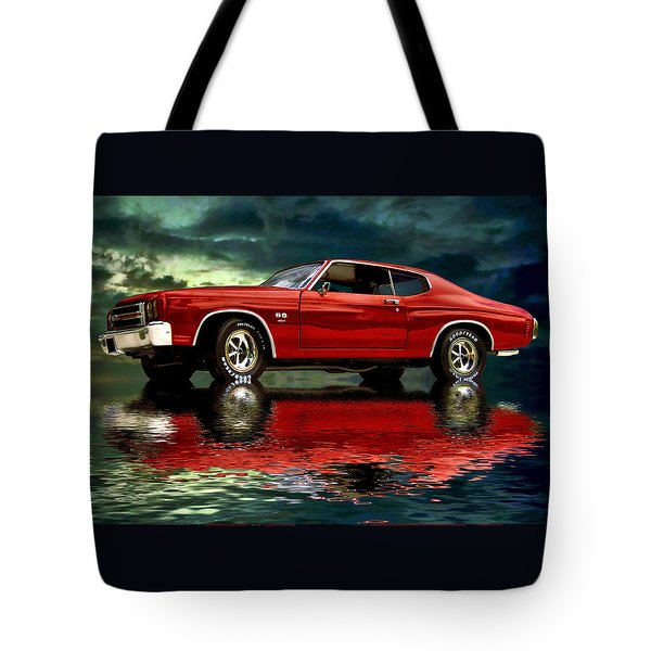 Chevelle 454 Tote Bag by Steven Agius