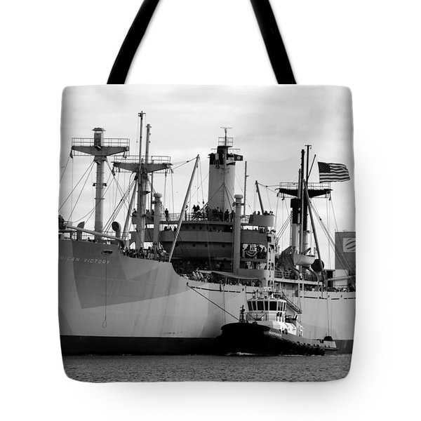 Ss American Victory Tote Bag by David Lee Thompson