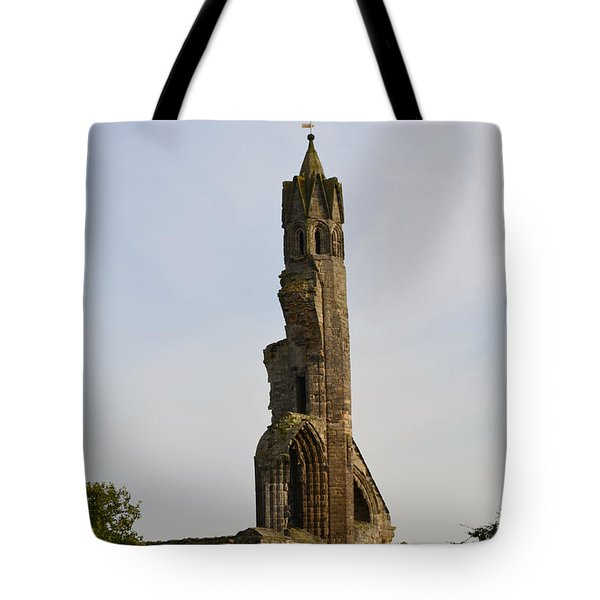 St Andrew's Cathedral Ruins Tote Bag by DejaVu Designs
