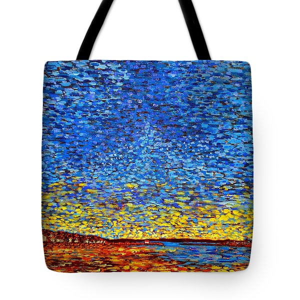 St. Andrews Sunset Tote Bag