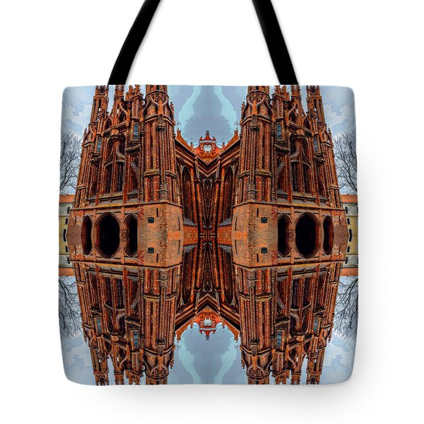 St. Anne's Church Art Tote Bag by Yevgeni Kacnelson