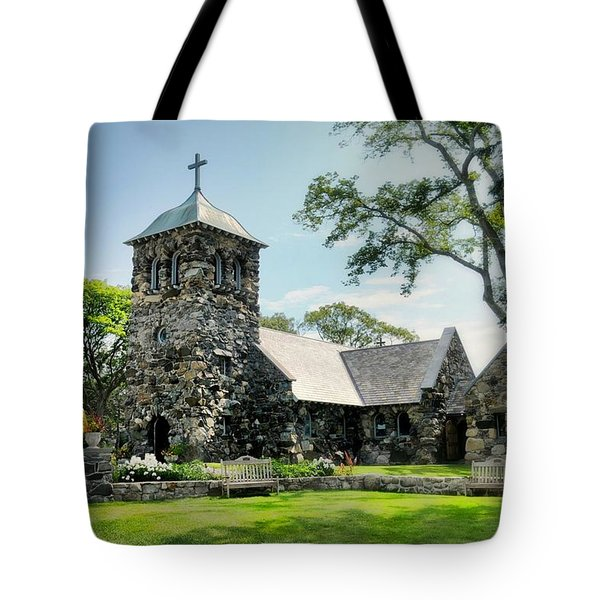 St. Ann's Episcopal Church Tote Bag by Diana Angstadt