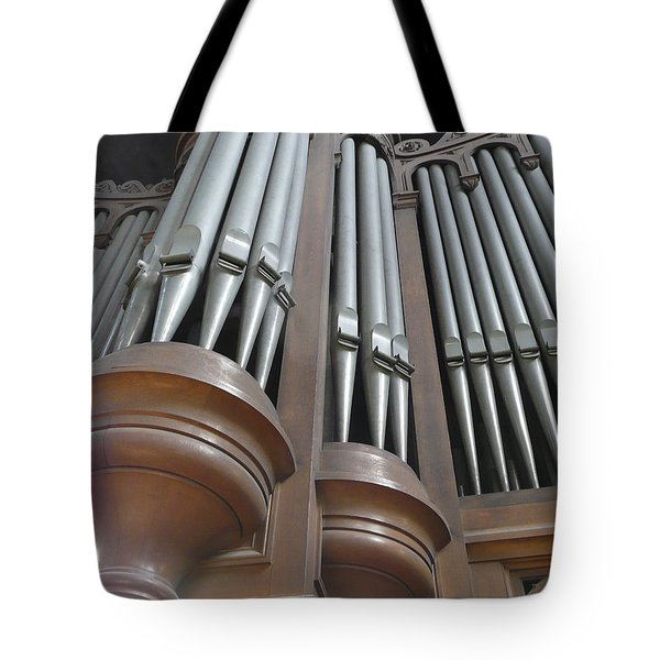 St Augustin Organ Tote Bag