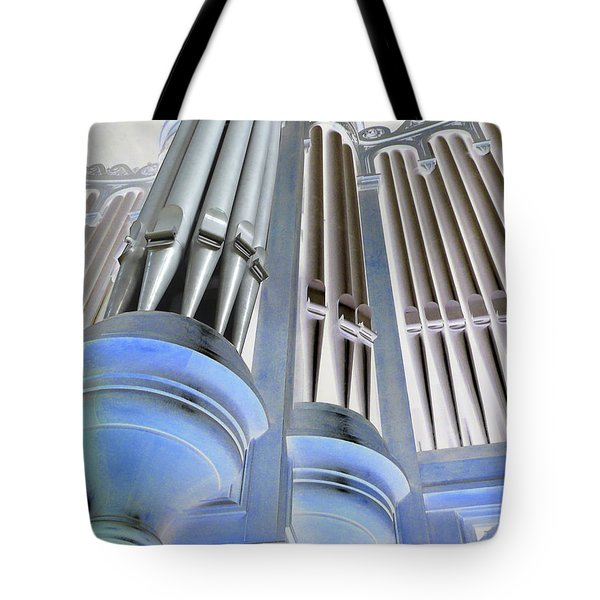 St Augustine Fantasy Organ Tote Bag